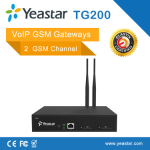 2 GSM Channel for 2 SIM Card VoIP GSM Gateway pictures & photos