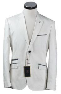 2 Buttons White Casual Men Suit