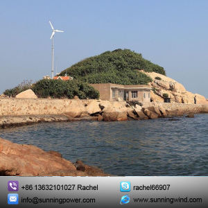 with Sunning 5000W Wind Turbine Generator Is a Real Power House and a Useful Addition to Solar Energy. pictures & photos
