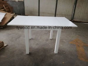 White Color Extension Table pictures & photos
