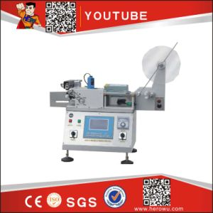 Hk-100A Type Micro-Computer Automatic Trademark and Label Cutting Machine pictures & photos