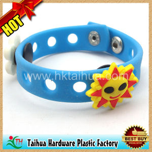 New Style Silicone Bracelet / Rubber Bracelet (TH-041) pictures & photos