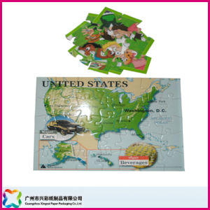 Customized Children Toy Jigsaw Puzzle for Promotion/Education (XC-9-001) pictures & photos