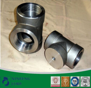 Asme/ANSI B16.11 A234 A105 A106 Wpb Reducing Tee