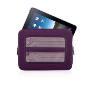 Fashionable Purple Color Sleeve Laptop for iPad Bag (SI017) pictures & photos