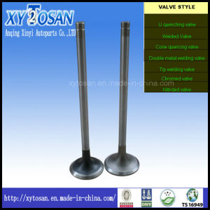 Intake & Exhaust-Valves for Komatsu 4D105, 4D155, 6D155 Engine OE: 6136-41-4110, 6136-41-4211, 6127-41-4113, 6127-41-4214 pictures & photos