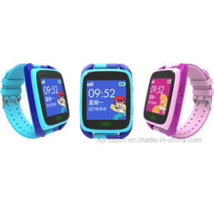 Newly Touch Screen Kids GPS Tracker Watch with Geo-Fence Y15 pictures & photos