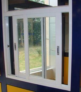 Aluminium As2047 Double Glazing Sliding White Windows Double Sashes High Quality