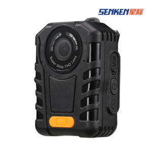 One Button Recording Super HD Video Police Body Worn Camera pictures & photos