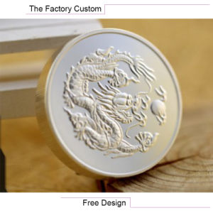 High Quality Silver Metal Coin Customized pictures & photos