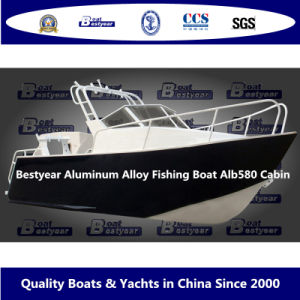 Bestyear Aluminum Alloy Fishing Boat Alb580 Cabin pictures & photos