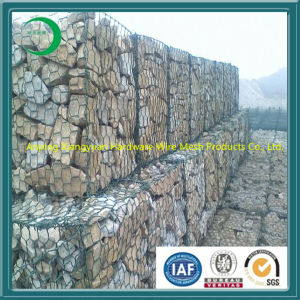 Gabion Box with Galvanized or PVC Coating pictures & photos