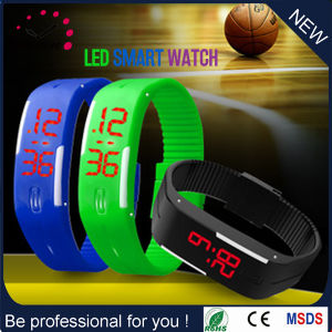 2017 Bracelet Hot Sale Silicone Wristband LED Digital Watch (DC-1114) pictures & photos