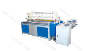 1575 Automatic Toilet Paper Rewinder for Paper Processing or Production Line pictures & photos