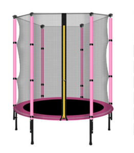 High Quality Colorful Trampoline with Safety Net, Spring pictures & photos