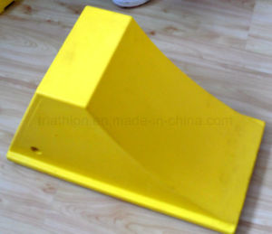 "24"" Polyurethane Foam Yellow Aircraft Wheel Chock pictures & photos"