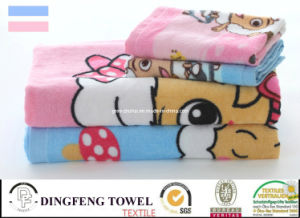 Hot Sell 100% Cotton Reactive Velour Printed Beach Towel pictures & photos