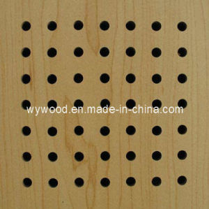 Perforated Wooden Acoustic Panel (E16/6/15) pictures & photos