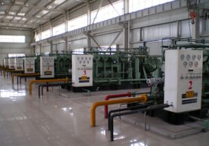 NGV Mother Filling Station with High Quality CNG Compressor