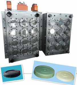 Hot Runner System Injection Plastic Cap Mould pictures & photos