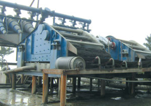 Linear Vibration Dewatering Screen for Sludge, Tailings, etc pictures & photos