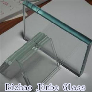 Clear/Milky/Aqualite/Toughened/Bullet Proof Laminated Glass with SGS Certification (JINBO) pictures & photos