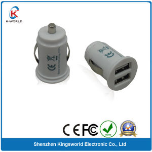 Dual Griffin USB Car Charger for Mobile Phones (KW-0736)