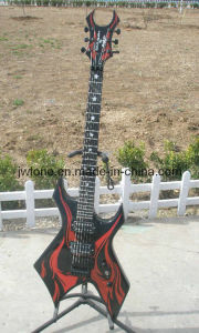 Stencil Plate Body Top Watertransfer Design Electric Guitar pictures & photos