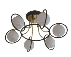 2015 LED 6 Light Bulb Ceiling Light