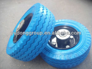 PU Foam Wheels 6X2, 2.50-4, 3.50-8, 3.00-8 3.50-4 pictures & photos