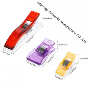Three Size Plastic Sewing Wonder Clip for Quilting pictures & photos