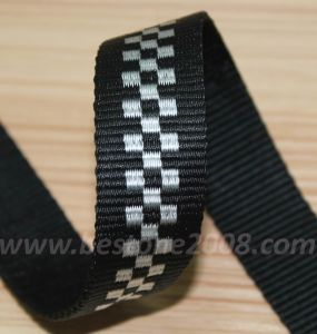 High Quality Nylon Jacquard Webbing for Bag #1401-161 pictures & photos