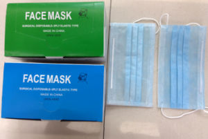 Surgical Face Mask Ready Made Supplier for Medical Protection Ear Loop Tied Cone Types Kxt-FM26 pictures & photos