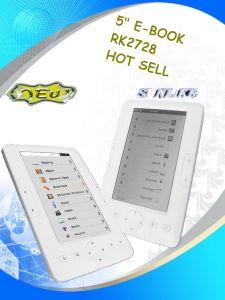 """5"""" RK2728 DRM E-book (ET5002)"""