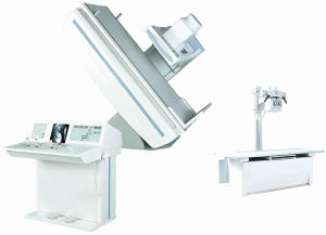 Remote Controlled Diagnostic X-ray Machine with Fluoroscopy and Radiography pictures & photos