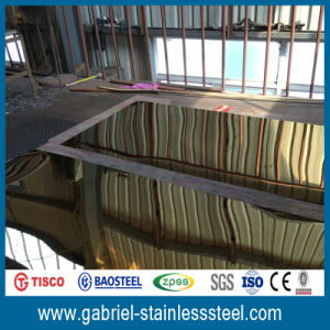 201 8k/16k/32k Mirror Stainless Steel Sheets pictures & photos