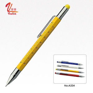 Newest Designed Customied Logo Printed Pencil Metal Pencil on Sell pictures & photos