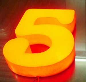China 3d small plastic letters and numbers signs for for Small plastic letters for signs