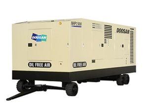 Ingersoll Rand/ Doosan Portable Screw Compressor, Compressor, Oil Free Compressor, Non Lubricated Compressor, Air Compressor (NHP1500WCU) pictures & photos