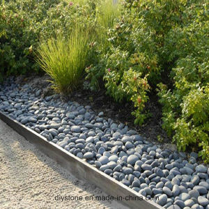 Black Pebble Gravel Crushed Stone pictures & photos