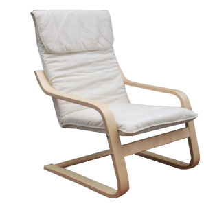 Living Room Chair /Relax Bentwood Chair/Plywood Chair with Straps Back (XJ-BT024)