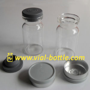 7ml Steroid Glass Bottle + 20mm Sterile Butyl Stopper + 20mm Gray Flip off Seal pictures & photos