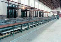 Medium-High Carbon Steel Wire Heat Treatment Electroplating Production Line