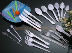 Plastic Spoon Knife and Fork Mold