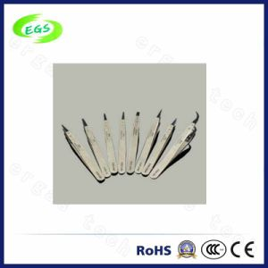 Industrial Stainless Steel White ESD (Anti-static) Tweezers (EGS ESD-00) pictures & photos