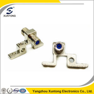 F Connector Ground Block Single F-81 Female Connector pictures & photos