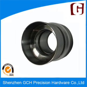 Black Anodized High Speed Aluminum CNC Turning Part