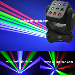 Disco RGB Laser Matrix Beam Moving Head Lights pictures & photos