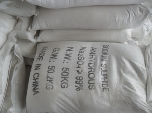 Sodium Sulfate, Food Grade, Industrial Grade, NaSO4 7H2O, NaSO410H2O pictures & photos