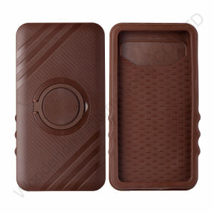 Brown Plastic+Silicone Universial Mobile Phone Case pictures & photos